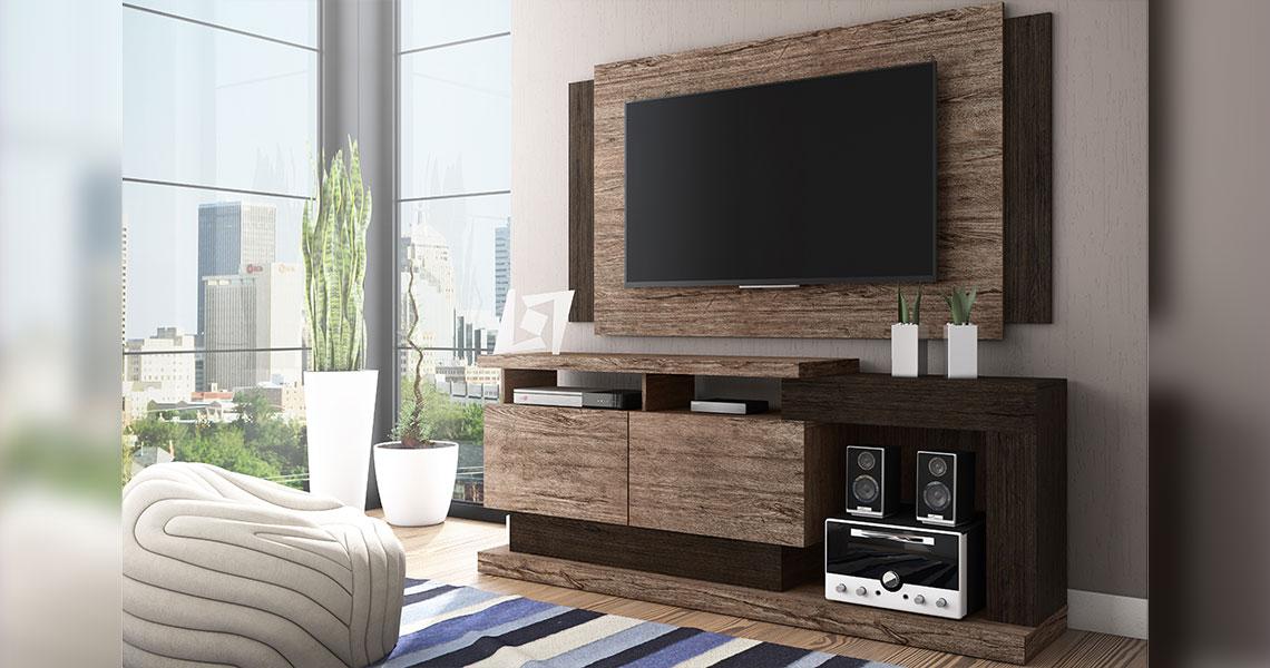 Rack para TVs de até 50″ Fusion Smart