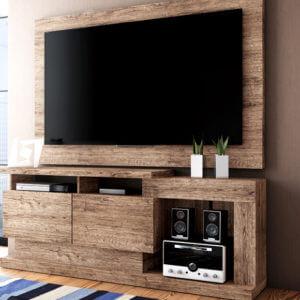 Rack para TVs de até 50″ Fusion – Linea Brasil