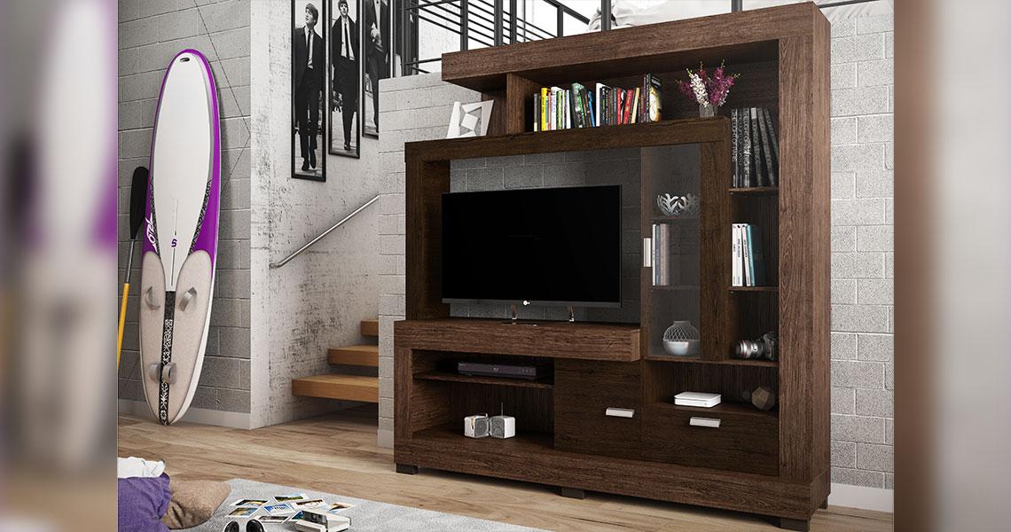 "Entertainment Center for TVs until 47"" Acacia – Linea Brasil"