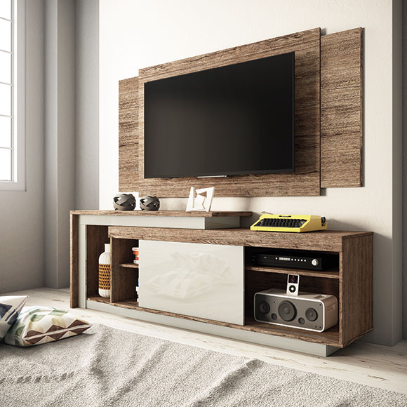 Rack extensível para TVs de até 55″ Pegasus