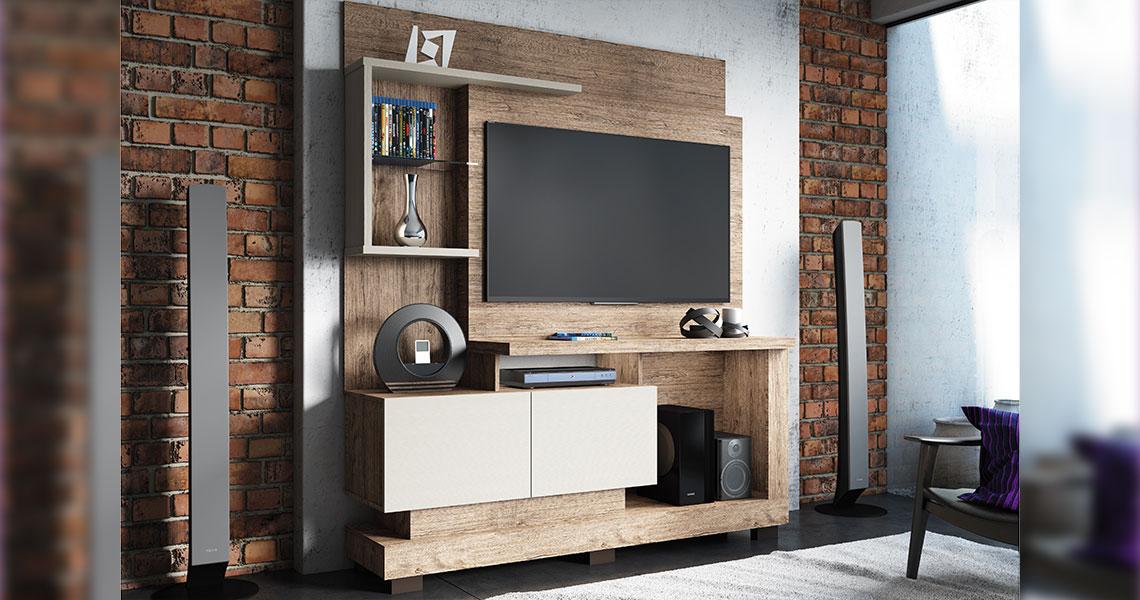 Home para TVs de até 50″ Turin Smart