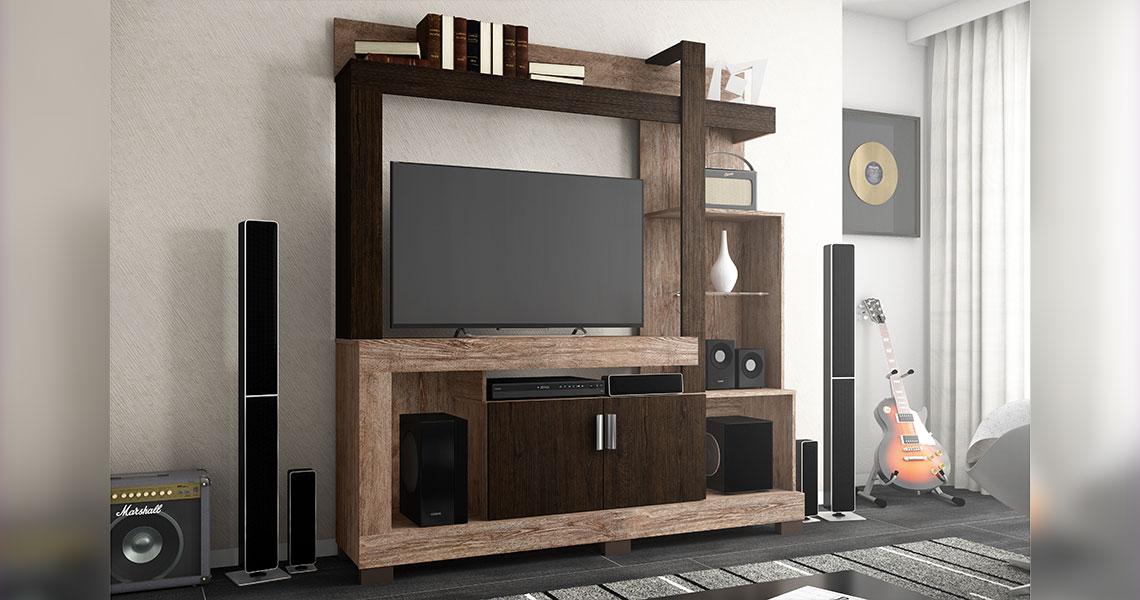 Estante para TVs de até 42″ Anita