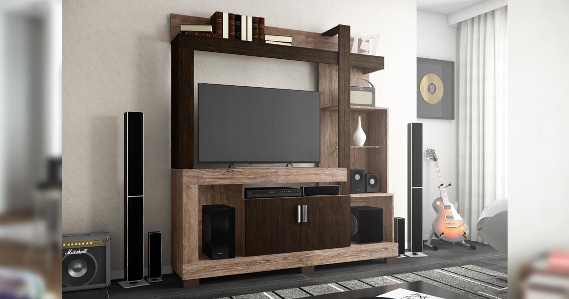 Entertainment Center for TVs until 42″ Anita – Linea Brazil