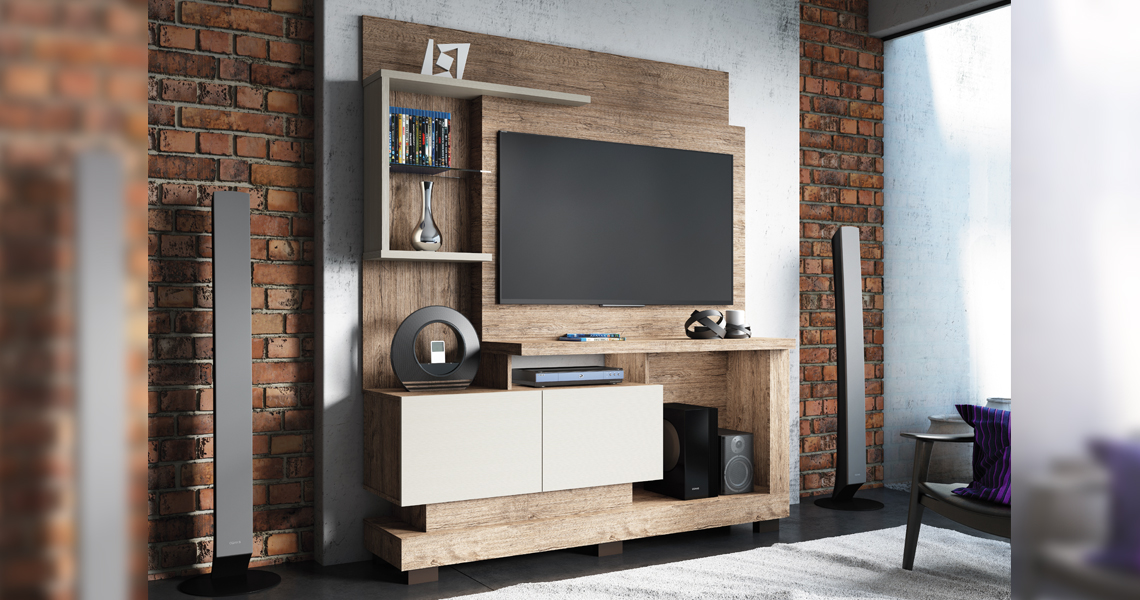 Home for TV until 50″ Turin Smart