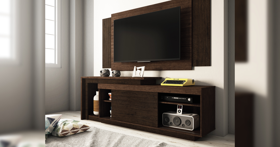 mesa extensiva para tv hasta u pegasus u linea brasil