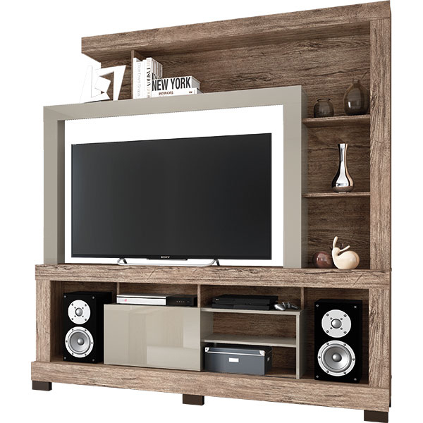 Entertainment center for TVs until 55″ Ipanema – Linea Brasil