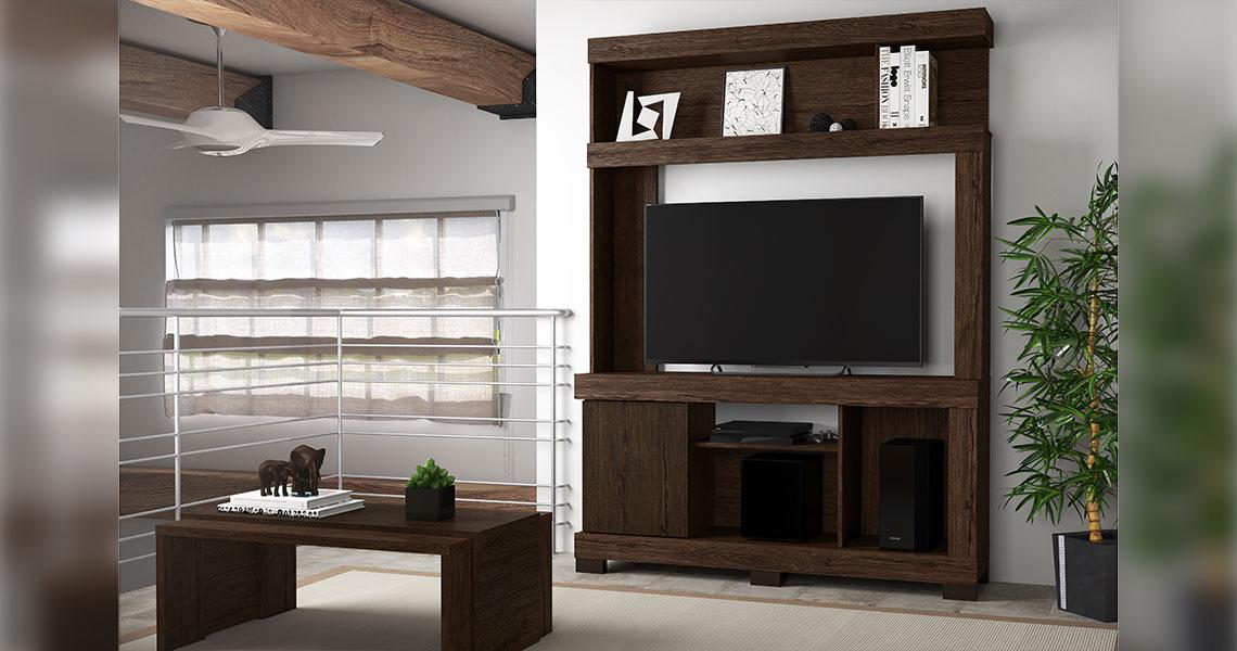 Estante para TVs de até 50″ Lara