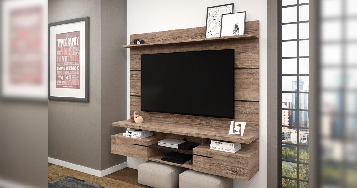 Panel for TVs until 60″ Paris – Linea Brasil