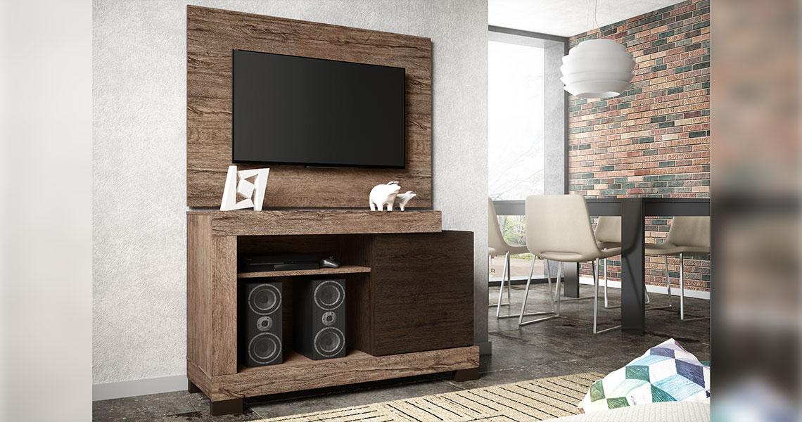 Rack para TVs de até 42″ Porto Rico
