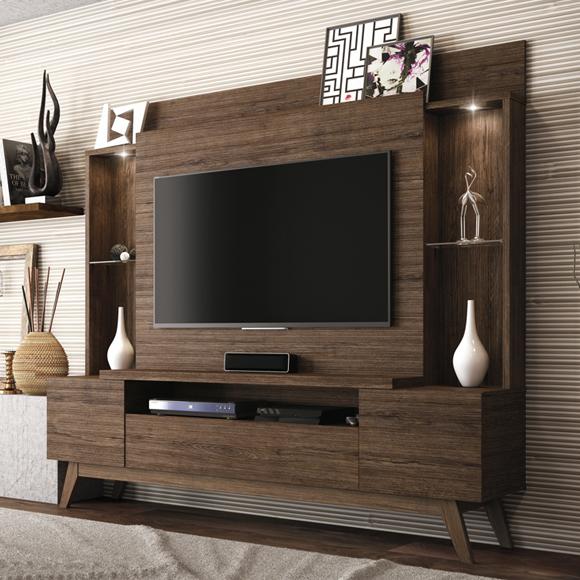 Estante Home para TVs de até 55″ Taurus – Linea Brasil
