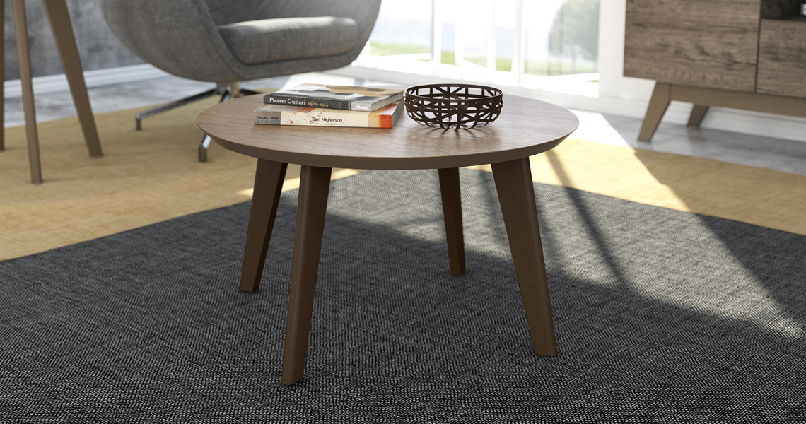 Center and side Table Bia – Linea Brasil