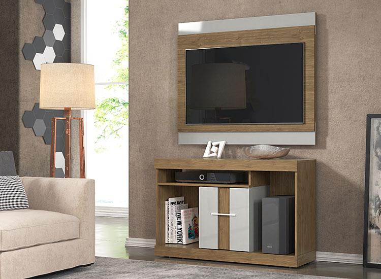 Conjunto Rack com Painel para TV San Diego Smart