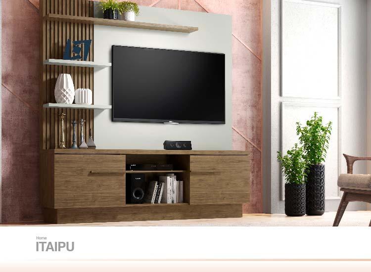 Home para TV Itaipu