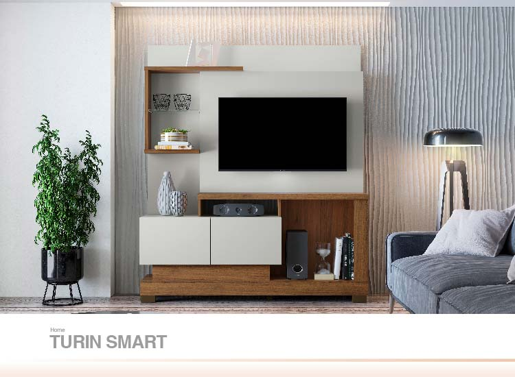 Home para TV Turin Smart