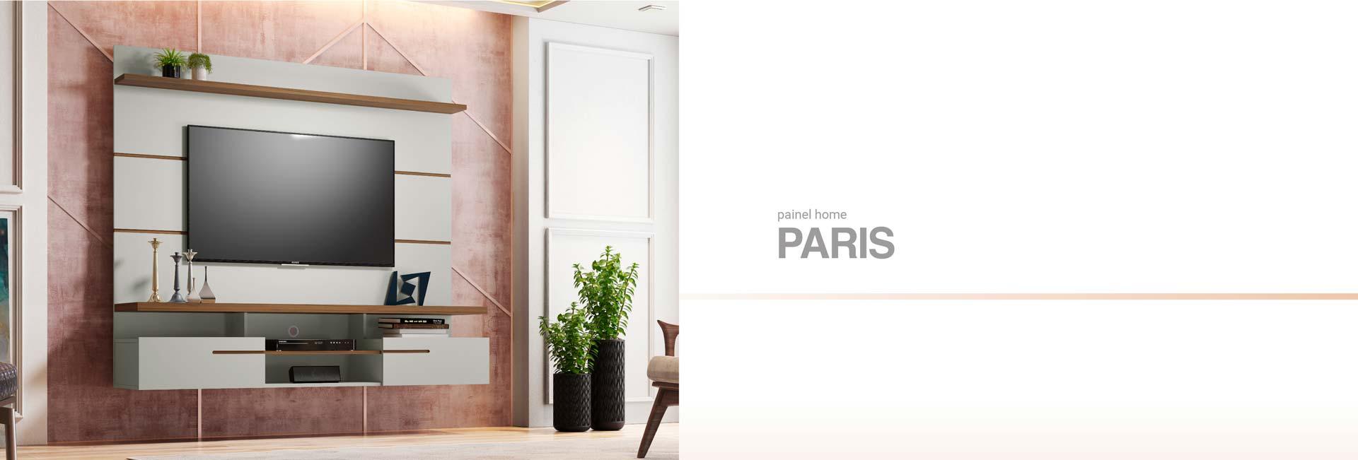 Painel para TV Paris