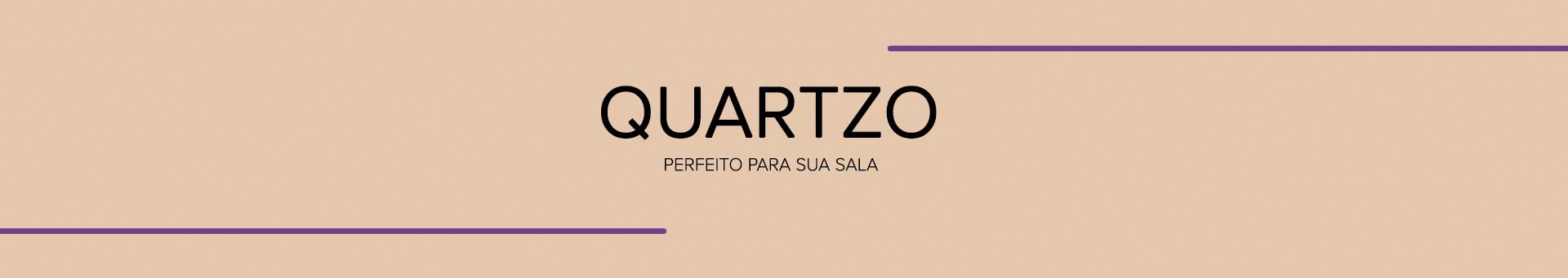 Rack para TV Quartzo