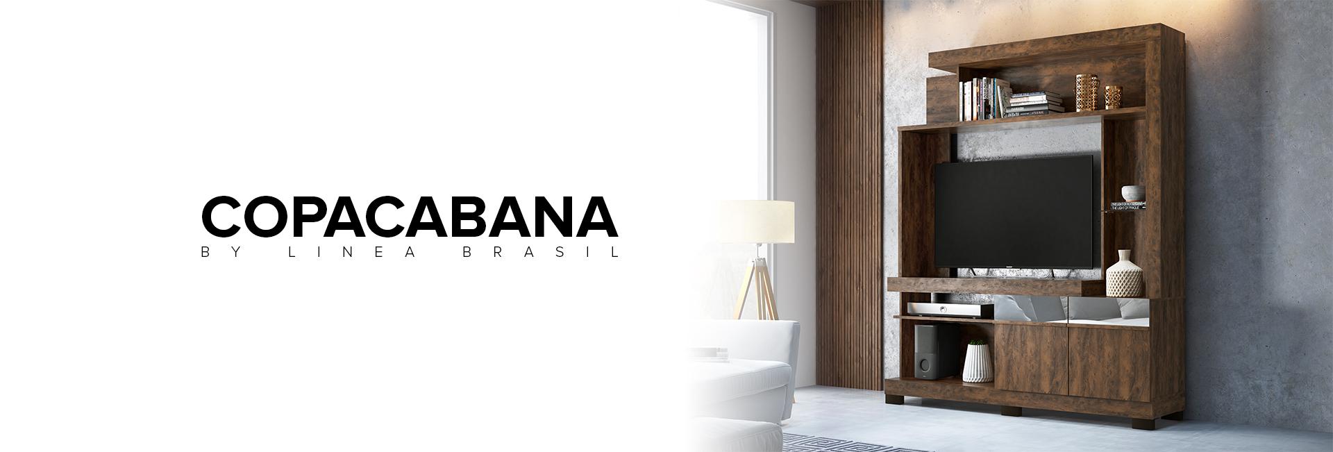 Estante para TV Copacabana