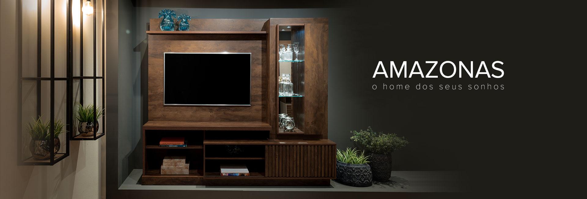 Home para TV Amazonas