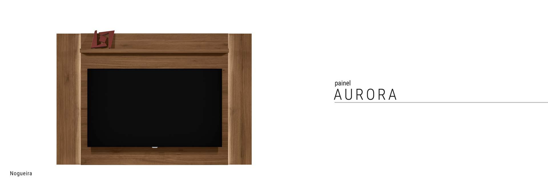 Painel para TV Aurora