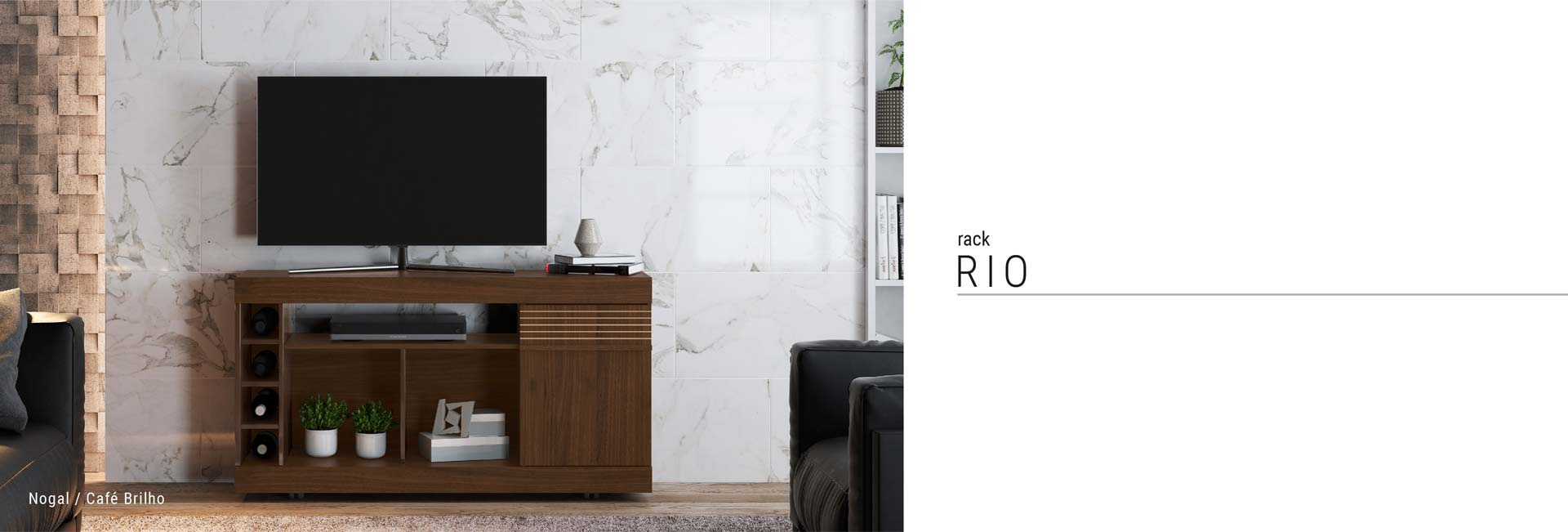 Rack para TV Rio