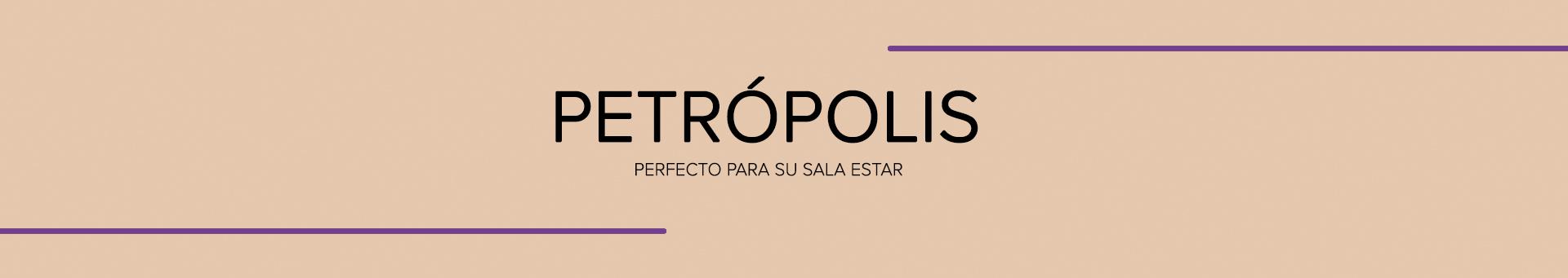 Home para TV Petrópolis